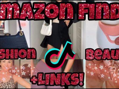 TIKTOK AMAZON FINDS FASHION BEAUTY Amazon HAUL with links