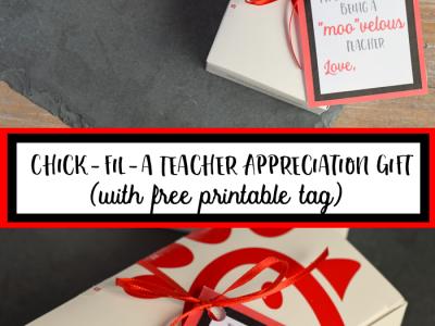 Teacher Appreciation Free Gift Tag Printable