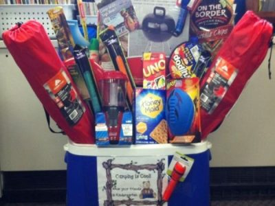 Creative Raffle Gift Basket Ideas for Charity School Fundraising or