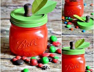 DIY Apple Jar Tutorial