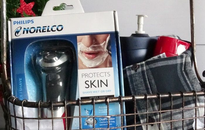 DIY Bath and Body Gift Basket for Men