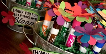 Easy Gift Idea for Teachers Appreciation Week with Printable