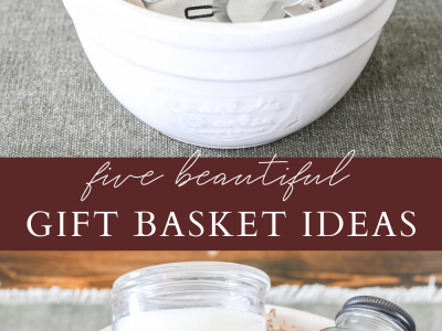 Five Beautiful Hostess Gift Basket Ideas