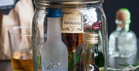 Groomsmen Gifts Minibar in a Jar