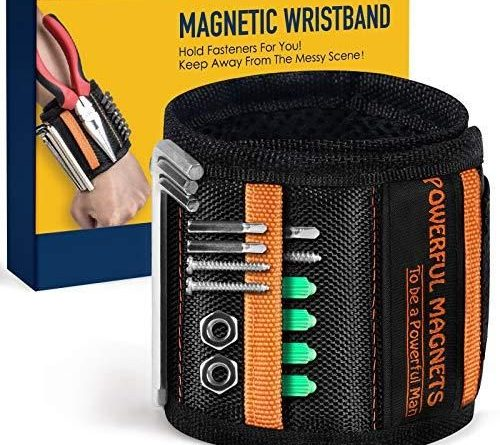 Magnetic Wristband for Holding ScrewsFunny Valentines Gifts for Him Gadgets