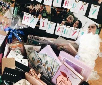 Mairany's Birthday Box VSCO mairrany