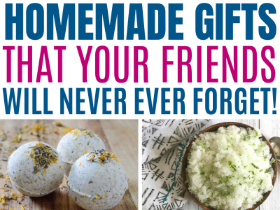 11 DIY Gift Ideas Your Friends Family Will Love