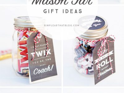 Christmas Gift in a Jar Ideas for everyone on your list The