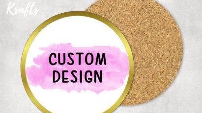 Custom Coaster 4 Pink