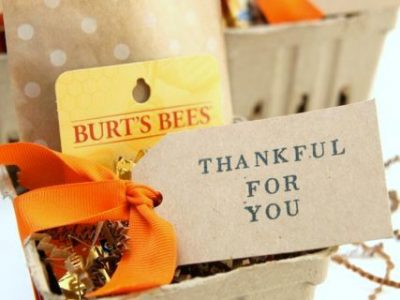 Fall Themed Thank You Gift Idea Smashed Peas