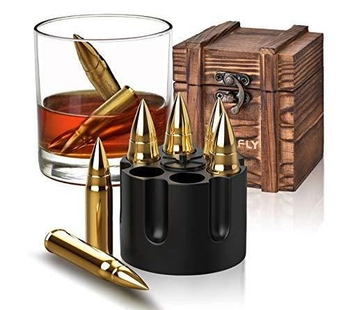 Gifts for Men Dad Christmas Stocking Stuffers Whiskey Stones Unique