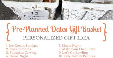 Give the gift of pre planned dates