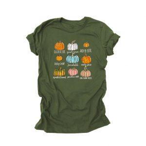 Pumpkin Patch Varieties T Shirt