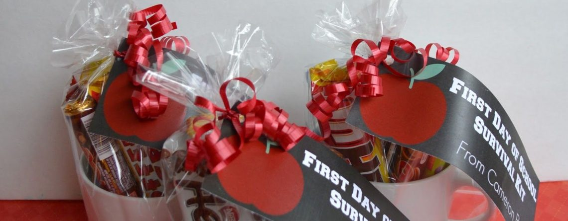 Teacher Gifts for the first day of school