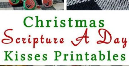 Christmas Scripture Chocolate Kisses Advent LightTheWorld Your Everyday Family