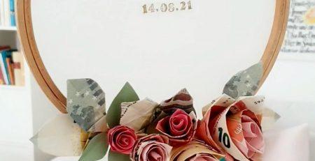 DIY Geldgeschenk zur Hochzeit