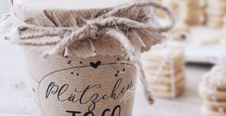 DIY Geschenkidee aus der Kuche Verpackungsidee und Freebie
