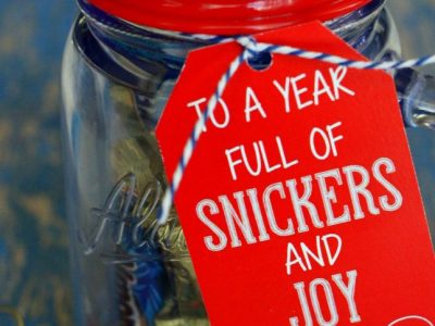 Snickers and Joy Gift Idea