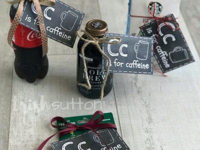 Teacher Gift C is for Caffeine