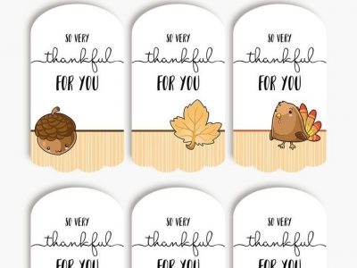 Thankful for you tags Free printable tags for thanksgiving gifts