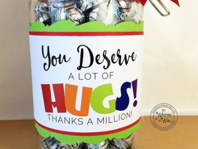 The Perfect Gift You Deserve A Lot of Hugs Hershey