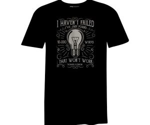 10000 Ways T Shirt Black