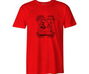 Age of bicycles heather red 1