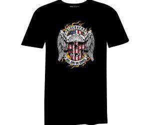Bikerhead T Shirt Black