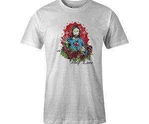 Holy Love T shirt white