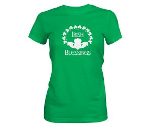 Irish Blessings T Shirt Kelly 1