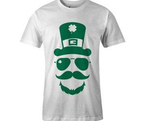 Leprechaun Hat T Shirt White