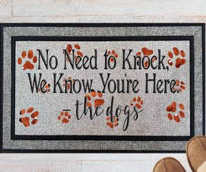No Need To Knock We Know Youre Here Welcome Doormat