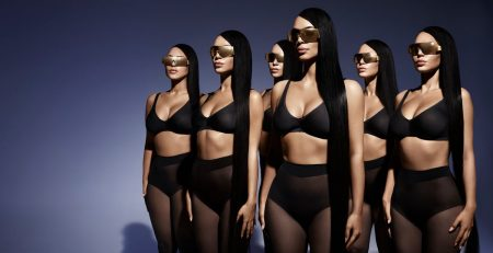 Whoa! Kim Kardashian's Campaign For Her New Eyewear Line Just Made Me Do a Triple Take