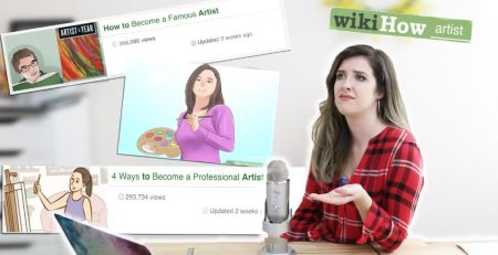 Reacting to the WORST WIKIHOW Art Tutorials!