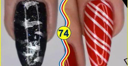 The Best Nail Art Tutorials - Wonderful Nails Design Ideas #74