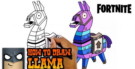 How to Draw Fortnite | Llama | Step-by-Step