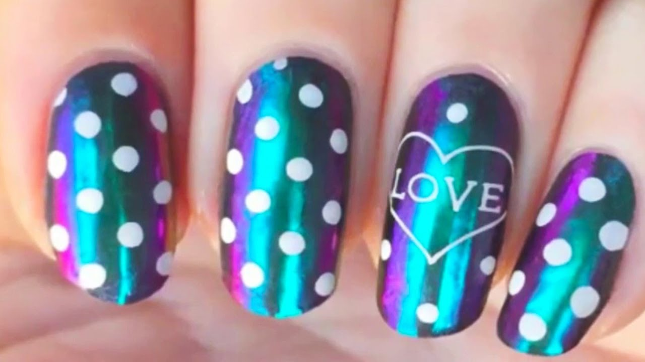 Beautiful Nail Art Tutorials 💓 Beautiful Nail Design Ideas 😍 Wonderful Life