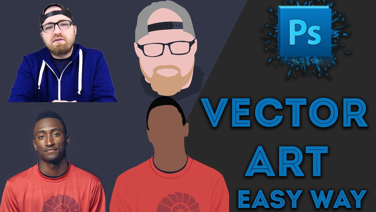 BEST : Easy Vector Vexel Art Tutorials for Photoshop Hindi