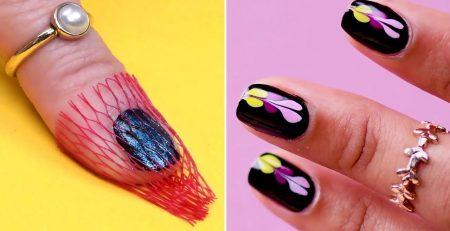 Salon Style Manicure At Home | DIY Nail Hacks & Nail Art Tutorials by Blusher
