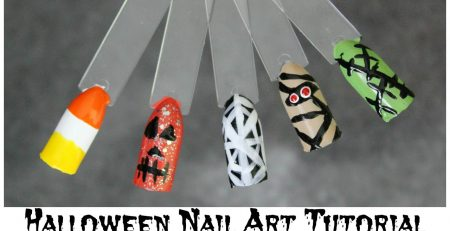 5 QUICK EASY HALLOWEEN NAIL ART TUTORIALS | Allie Young