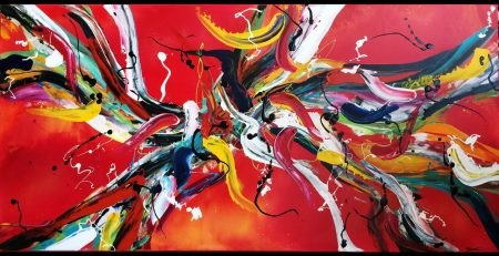 Online Abstract Art Lessons Preview of Video Tutorials