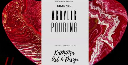 💕Acrylic Pouring Art by KaMiMa Art & Design ! Paint Pouring Tutorials for all Techniques !💕