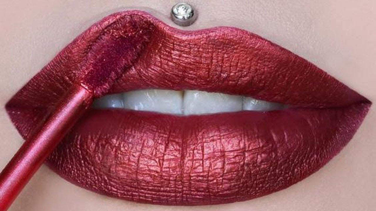 Lipstick Tutorials 2019 💄 New Amazing Lip Art Ideas #184