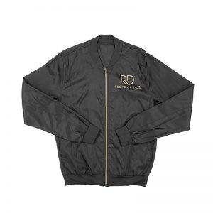 RD Black Bomber Jacket