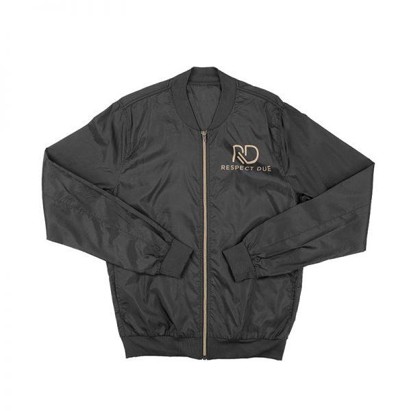 RD Black Bomber Jacket