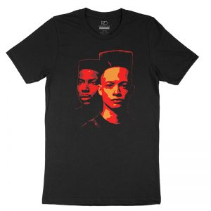 RD Kid N Play Black T Shirt