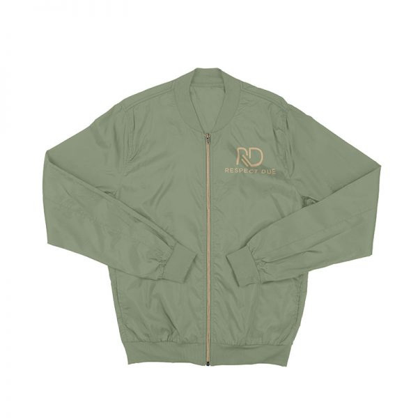 RD Military Green Bomber Jacket
