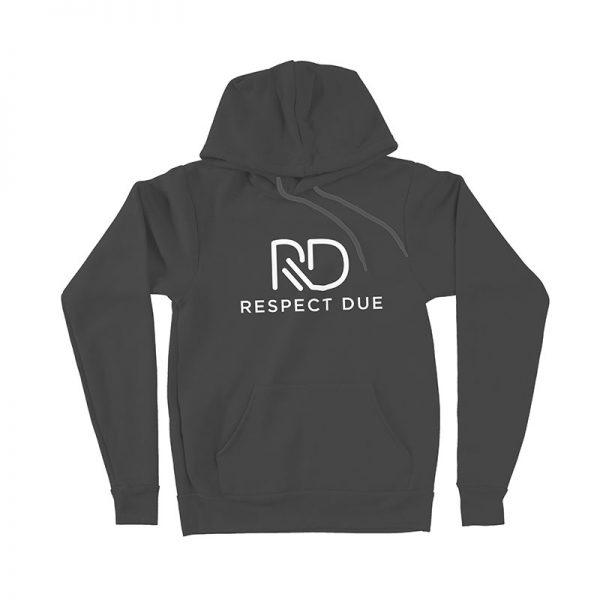 RD Pullover Hoodie Dark Grey Heather