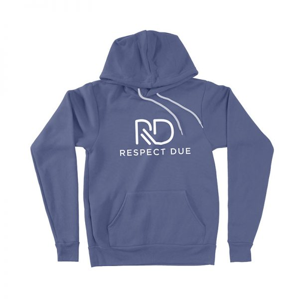 RD Pullover Hoodie Heather Navy