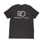 Respect Due Black Crew Neck
